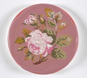 After embroidered rose olj8gf