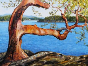 Arbutus Tree Reaching
