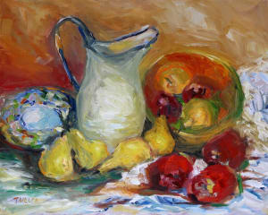 Pitcher Apples Pears