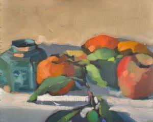 Ginger Jar with Fruit