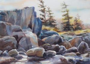 Tumbled Boulders