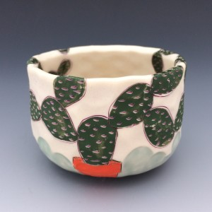 Potted Prickly Pear 2