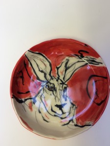 Porcelain Animal Plate