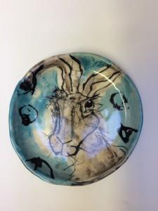 Porcelain Animal Plate