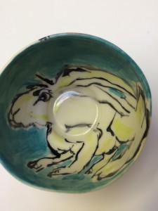 Porcelain Animal Bowl