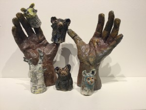 GoldiDog and the Three Bears Finger Puppet Set