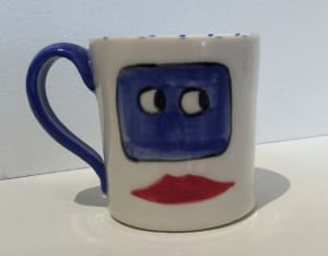 Kissing Lips Cup