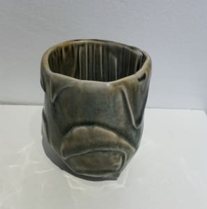 Darted cup