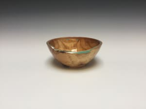 Spalted Birch and Cherry Bowl