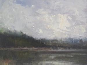 Misty Morning, Phelps Lake