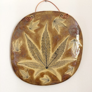 Warm honey large wall hanging s6m0nz