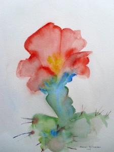 Cholla Blossom 1