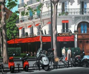 Le Café Metro, Paris