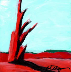 Red Tree Mini #6
