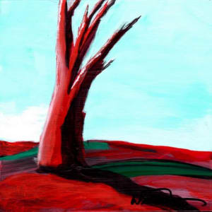 Red Tree Mini #7