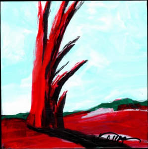 Red Tree Mini #8
