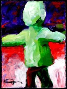 Standing figure 11 unp7bm