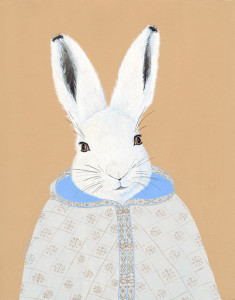Arctic hare 8x10 72 acbbea