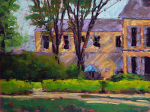Sunset at the Chateau (Plein air)