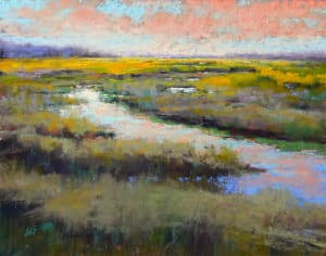 A Glimmer on the Marsh