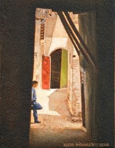 PAYSAGE EN MOROCCO:'WAITING'