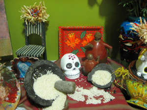Dios de la Muerte Altar - Andele Restaurant