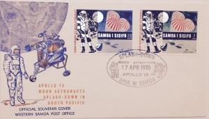 Moon landing & Splashdown Cover