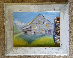 Great Barn at Arrandale: Misty