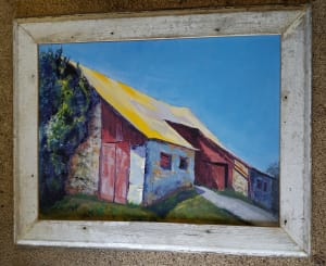 Iconic Yellow Roof - Great Barn at Arrandale;  Iconic Yellow Roof (3)