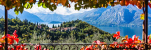 Autumn on Lake Como Water Media Workshop