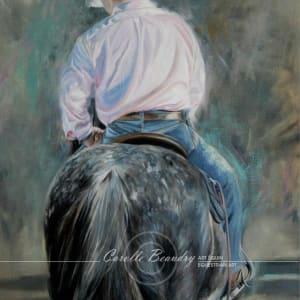 Cowboy en rose
