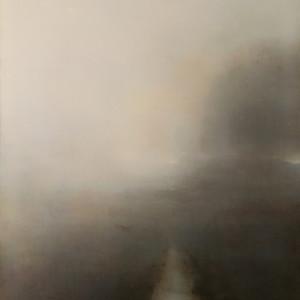 Cloaked dawn 90x70cm oil on canvas a1jbhk