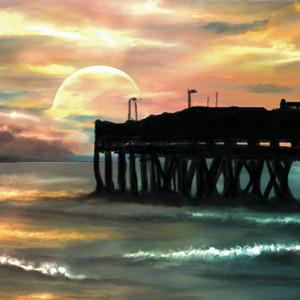 Sandbridge fishing pier 17x11 300 xdafbq