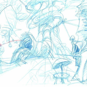 Sonic SatAM - Background Concept