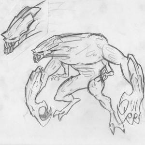 WildC.A.T.s - Character Model - Daemonite