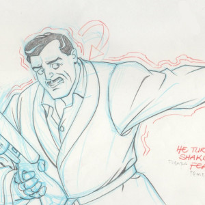 Batman: The Animated Series - Production Drawing - Daniel Mockridge