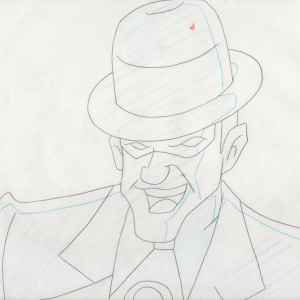 Batman: The Animated Series - Production Drawing - Riddler