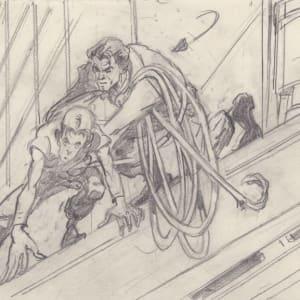 Titan A.E. - Storyboard 2