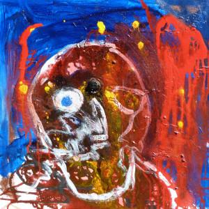 Eric schultz tooth heart ache acrylic on canvas qllpsh