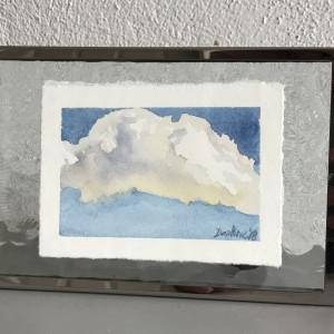Cloud study no1 july 2018 framed t9wduw