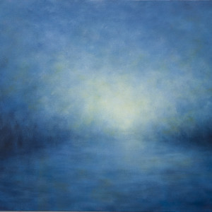 Into the mist 24x48 wahuwo
