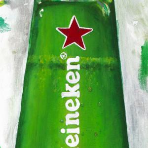 Heineken Mardi Gras Campaign Creative - Bottle