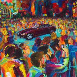 Jaguar Art of Performance II (Reproduction)