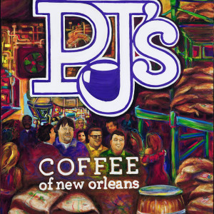 PJ's Coffee New Brand Poster