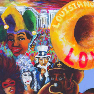 2016 Washington Mardi Gras Poster