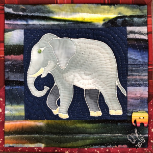 Strong Elephants In My Library #1