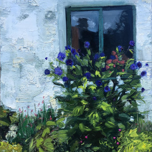 10  30in30paintingchallenge blue skies and blue thistles xr42pp