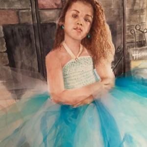 Olyvia and her blue tutu seg1ap
