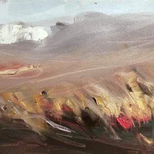 Sally veach shroud oil on canvas 11 x 14 xoijzm