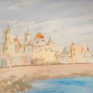Cádiz al atardecer